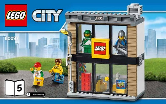 LEGO City Lego Store Shop from set 60097 NEW in Sealed Bags FREE ...